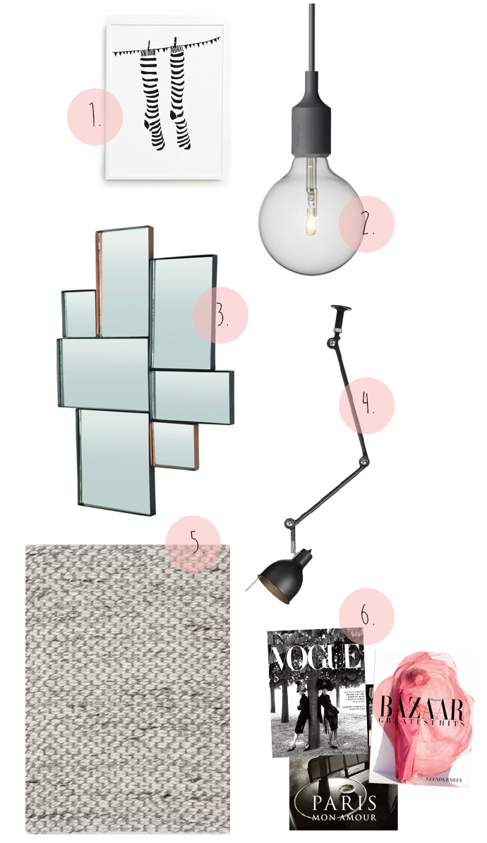 Muuto, lampa, House doctor, poster,
